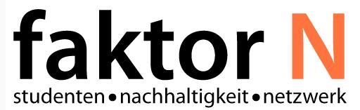 """Bild-14 in Studentisches Nachhaltigkeitsportal """"faktor N"""" gelauncht"""
