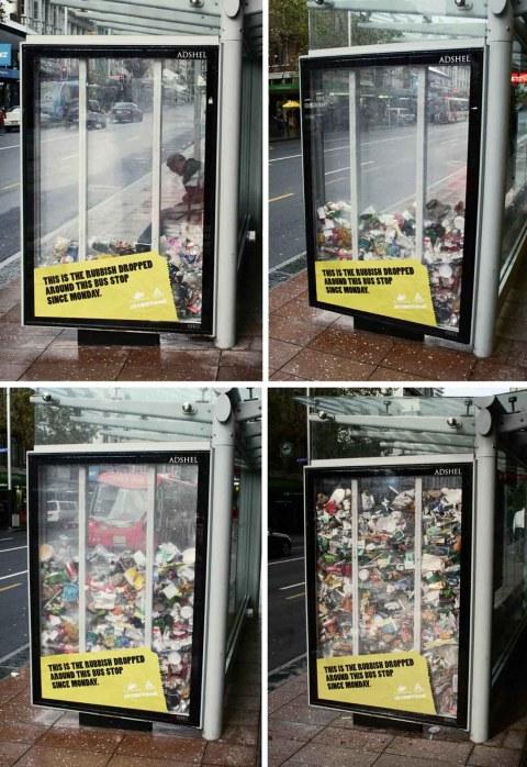 Anti rubbish