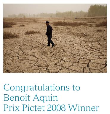 Prix Final in Gewinner des Prix Pictet steht fest