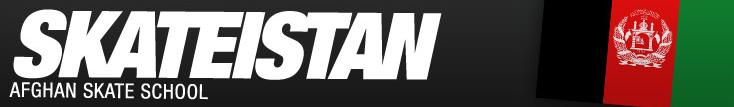 Skateistan Logo in Skaten in und für Afghanistan: Skateistan