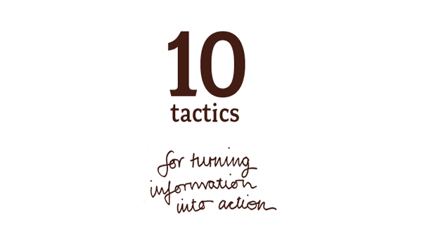 10-tactics in Info-Activism: turning information into action