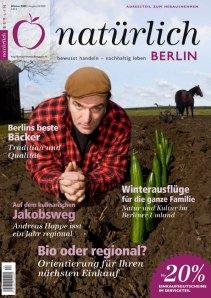 in Medienseite in aktueller Ausgabe der Zeitschrift natürlich