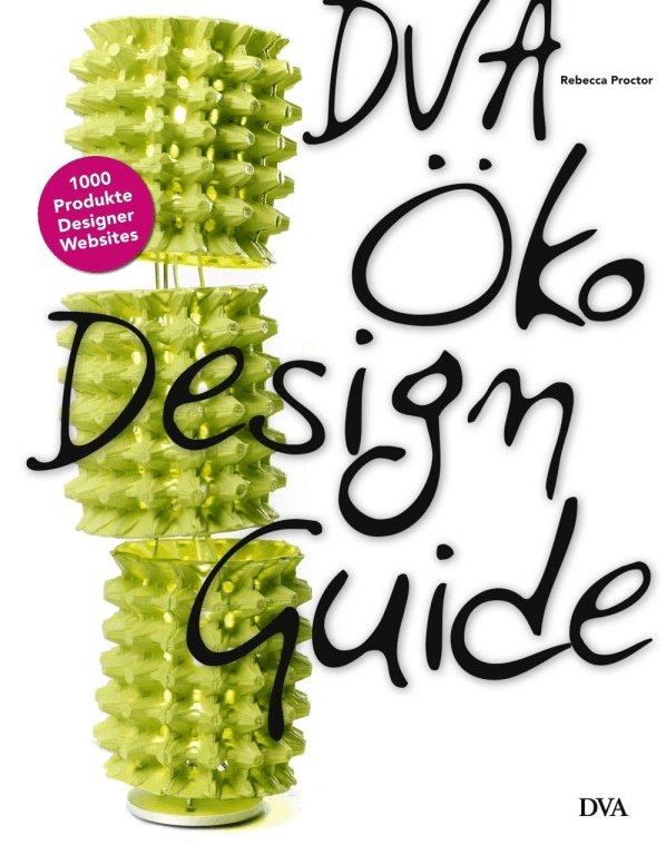 Bild-1 in DVA Öko-Design-Guide mit 1000 Design-Objekten
