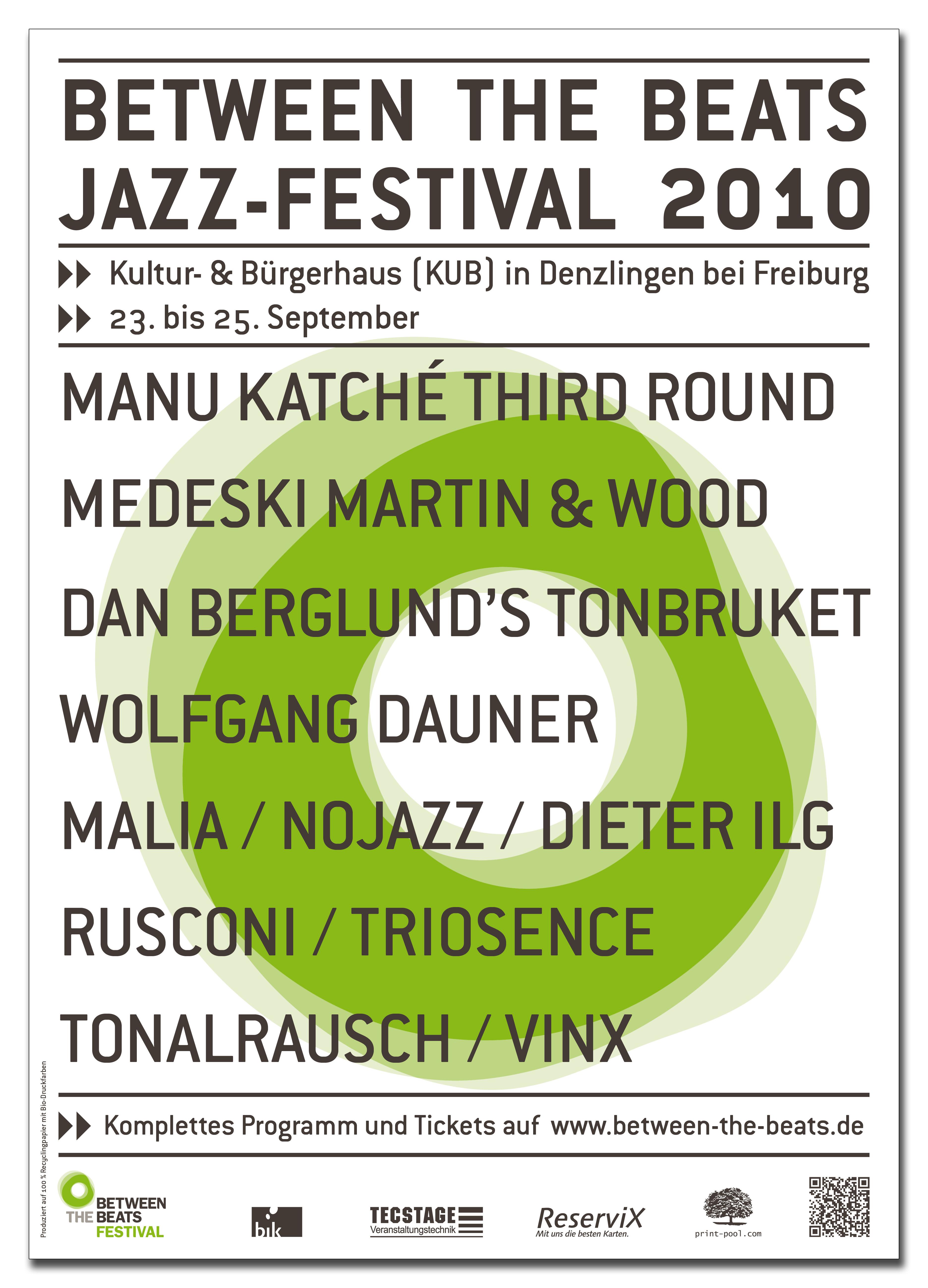 Btb-festivalplakat in